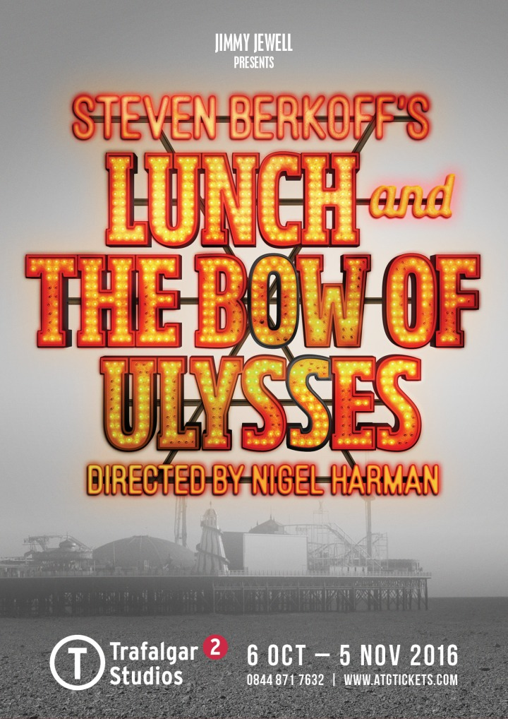 REVIEW: LUNCH & THE BOW OF ULYSSES – (Trafalgar Studios) ✮✮✮