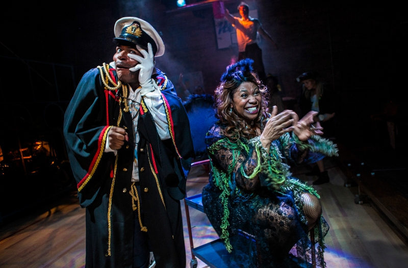 Moby Dick The Musical - Union Theatre - Anton Stephans and Brenda Edwards - Photo by Pamela Raith.jpg