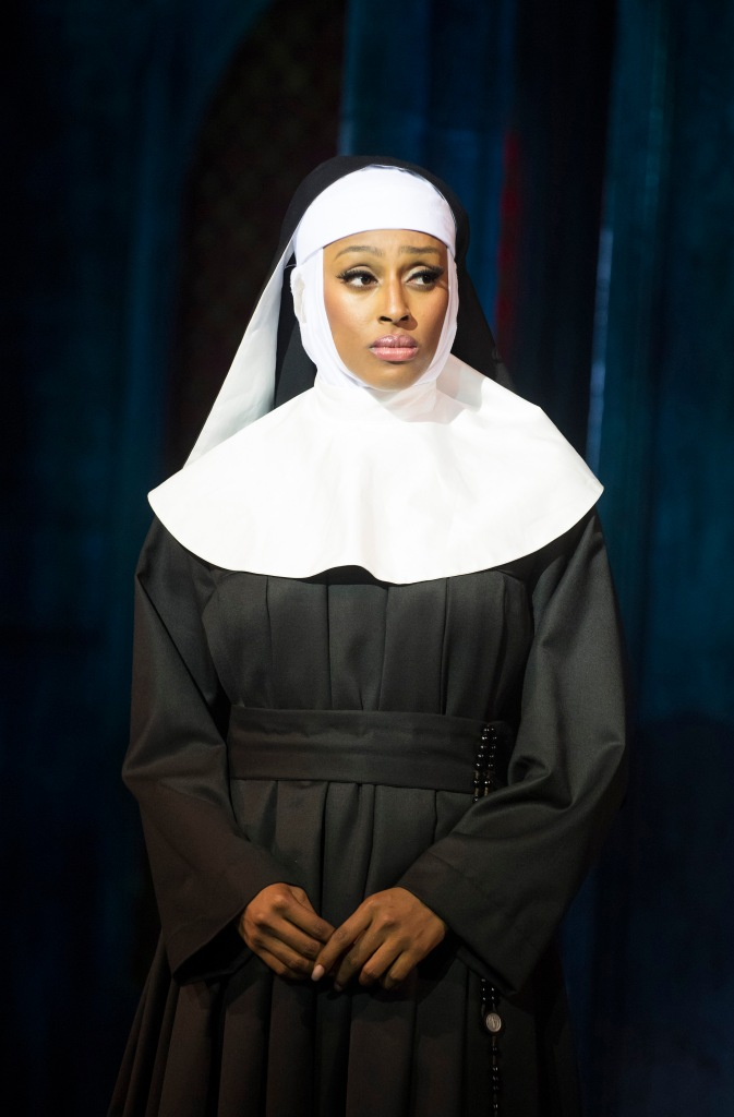 SISTER ACT. Alexandra Burke as 'Deloris Van Cartier'. Photo by Tristram Kenton